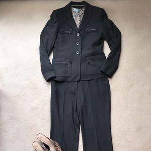 NWOT Anne Klein Black Suit